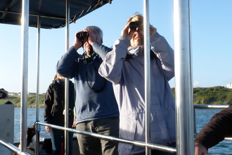 Birdwatching from the Fleet Explorer © Angela Thomas