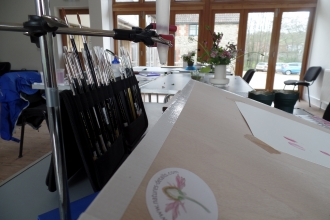 Botanical Painting course at Kingcombe © DWT