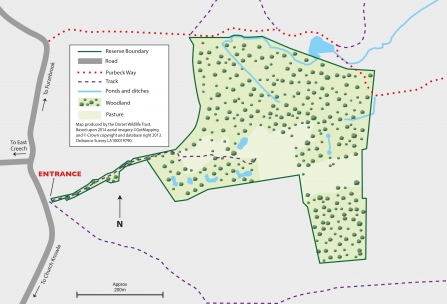 Kilwood Nature Reserve Map