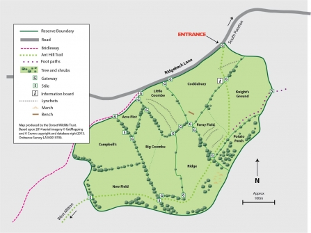 South Poorton Reserve Map