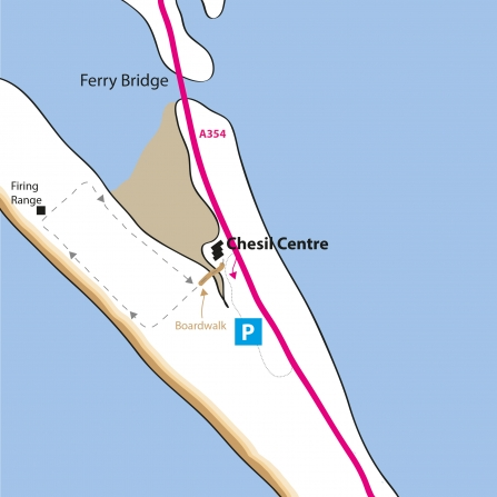 Chesil Beach Reserve Map