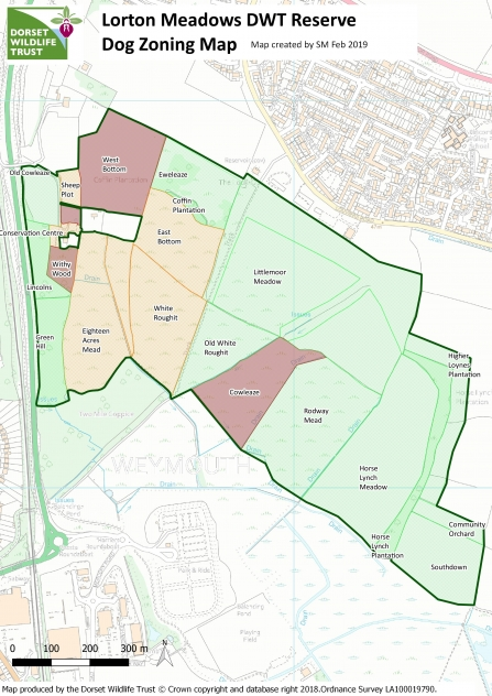 Lorton Meadows Dog Zoning Map Comp 6 and 14 red